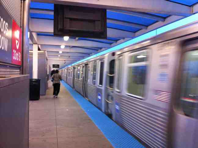El, Train, Red Line, Sox-35th, CTA, Chicago