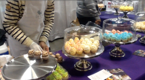 Guilty Pleasurez Cupcakes at America's Baking and Sweets Show. (Photo/Demetria Mosley)