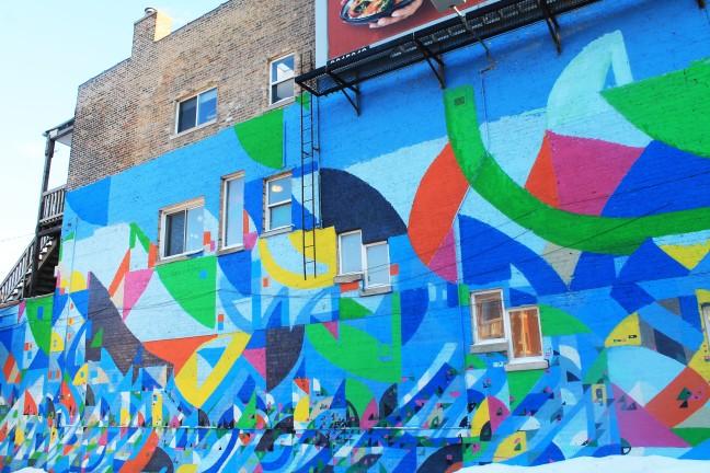 Justus Roe Mural: 5625 N. Clark St. (photo/Demetria Mosley)
